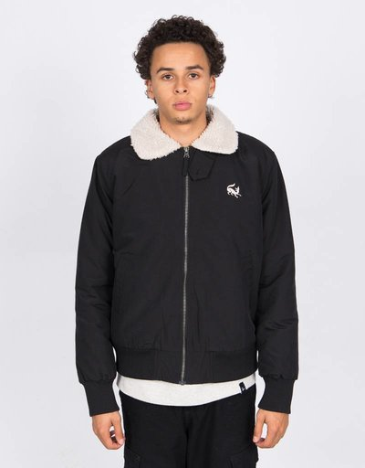 Parra Topper Harley Scared Fox Jacket Black
