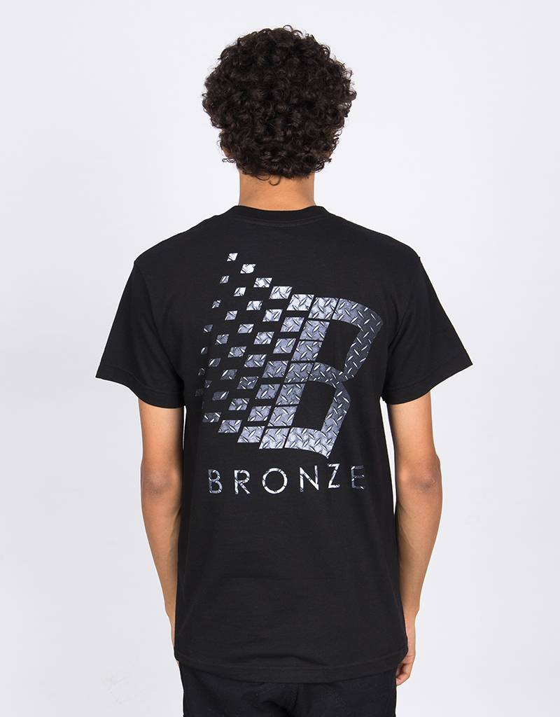 Bronze Classic Logo T-Shirt Diamond Plate