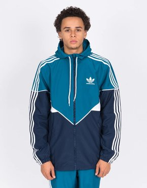 adidas Skateboarding adidas Premiere Windbreaker Jacket Teal/Navy/White