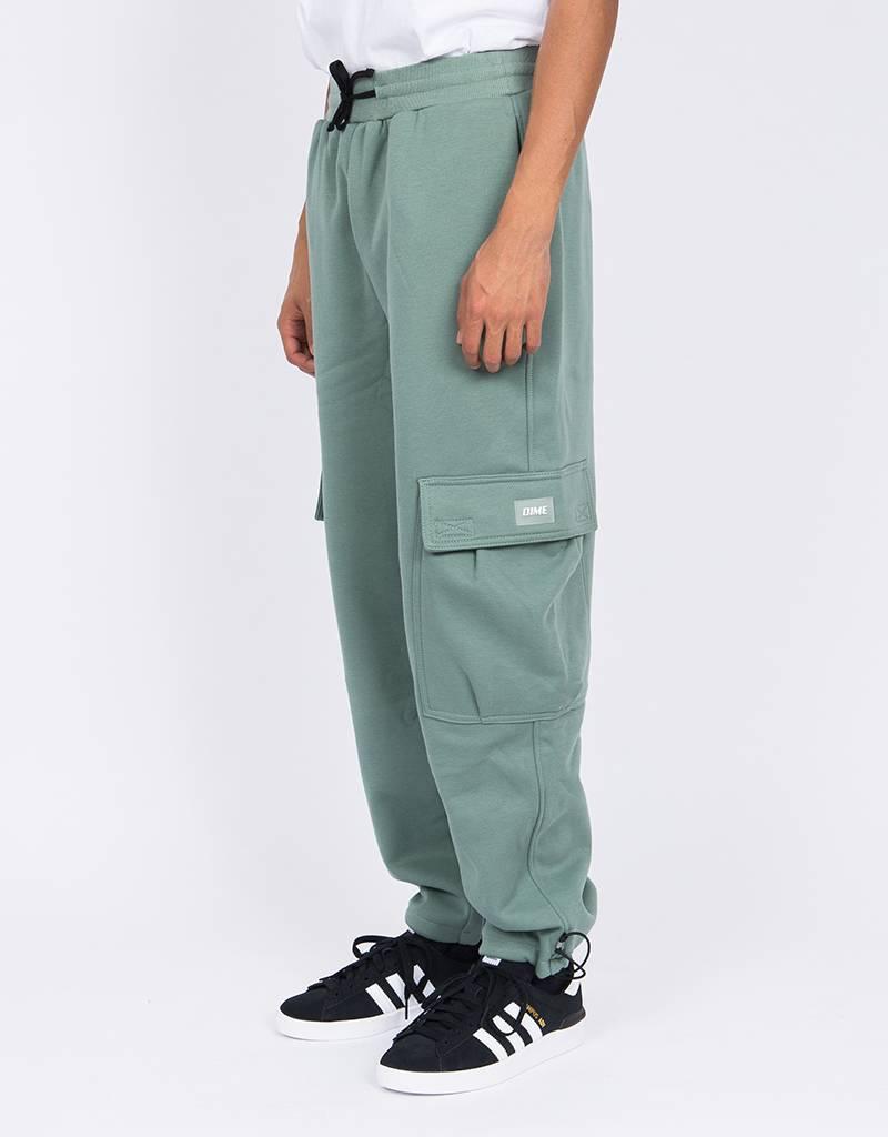 Dime Cargo Sweatpants Classic Green