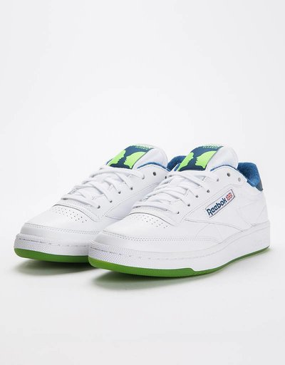 Reebok Classics x Bronze 56K Club C 85 MU White/Noble Blue/Sushi Green
