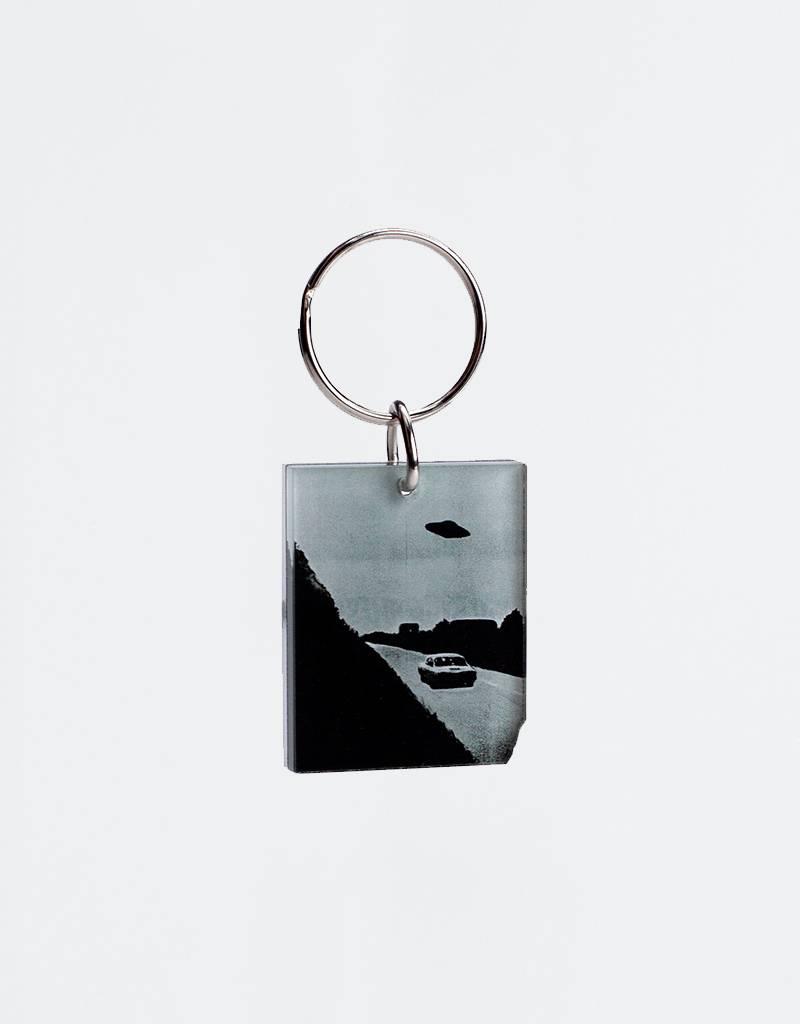 Fucking Awesome UFO Keychain