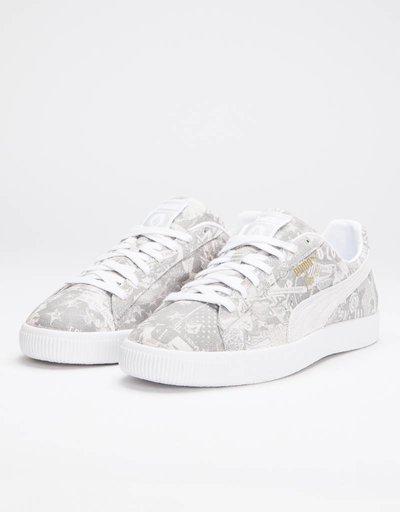 Puma Clyde X Volcom for Bls Puma White-Puma White