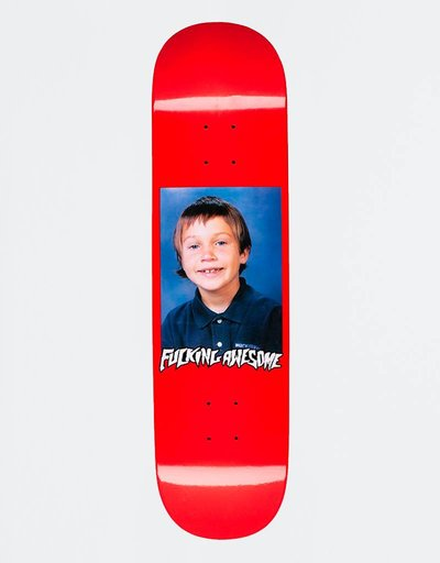 """Fucking Awesome Deck Elijah Class Photo Red Dipped 8.25"""""""