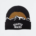 Quartersnacks Mountain Beanie Black