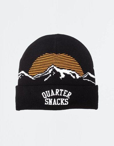 Quartersnacks Mountain Beanie Black