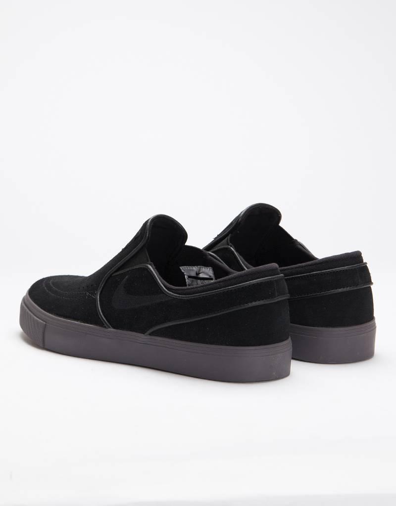 Nike Sb Zoom Stefan Janoski Slip Black/Black-Thunder Grey