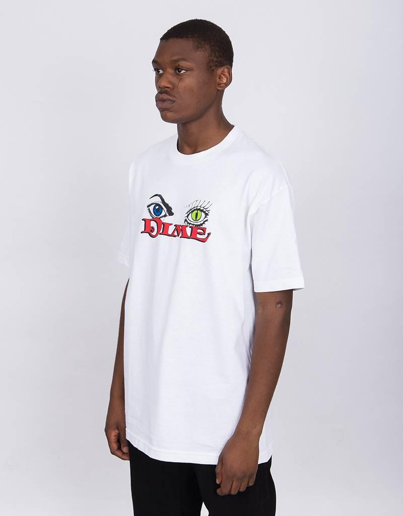 Dime Classic Logo T-Shirt Morph White