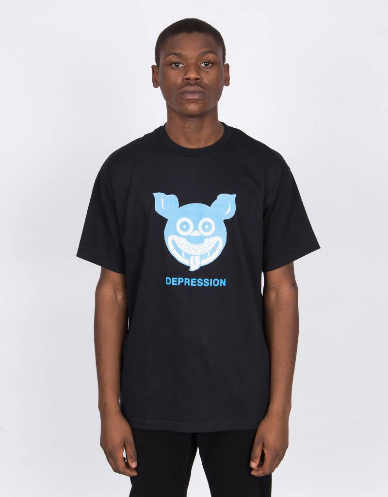 Fucking Awesome Depression Tee Black