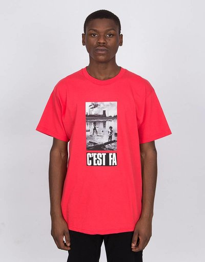 Fucking Awesome C‰Ûªest Fa Tee Red