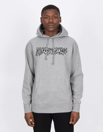 Fucking Awesome Shockwave Hoodie Heather Grey