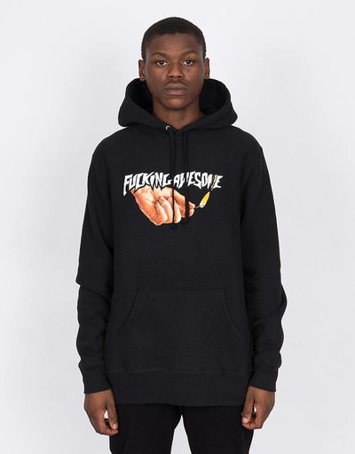 Fucking Awesome Pyro Hoodie Black