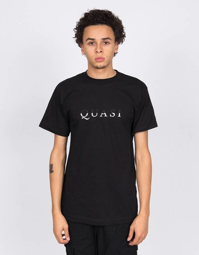 Quasi Wordmark T-Shirt Black