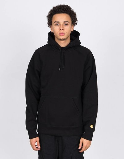 Carhartt Hooded Chase Sweat Black/Gold AW
