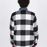 Levi's Skate Quilted Mason Jacket Manatee Bright White