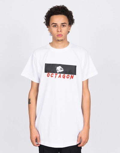 5737604585b Octagon Yubitsume T-Shirt White