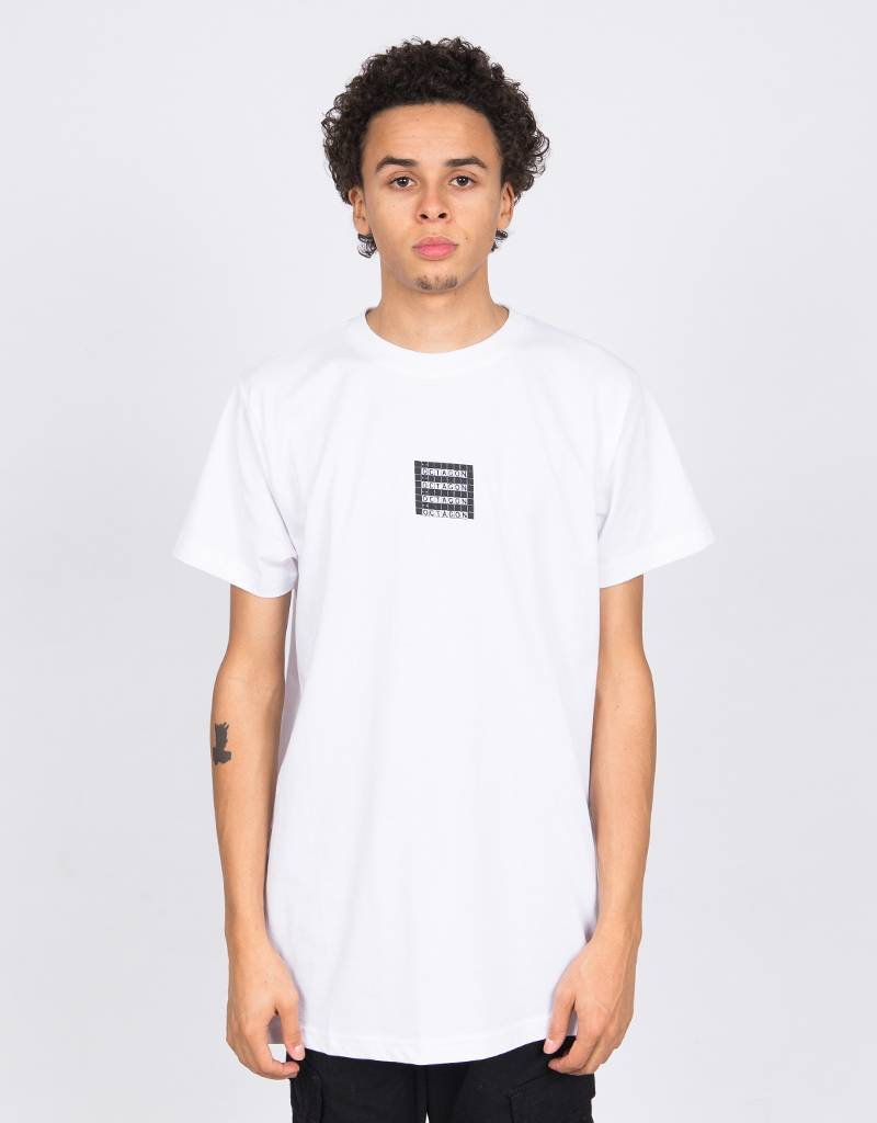 Octagon Cube T-Shirt White