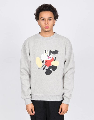 Quasi Walter Crewneck Heather Grey