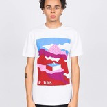 Parra Lost City Box T-Shirt White