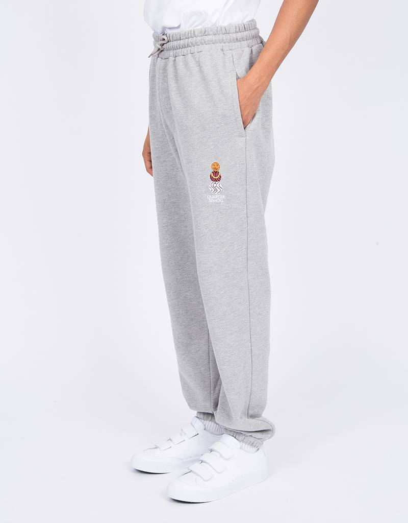 Quartersnacks Embroidered Sweatpants Heather Grey
