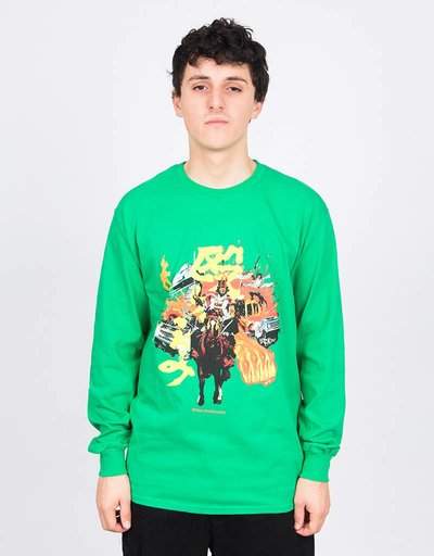 Evisen Charge Longsleeve Kelly Green