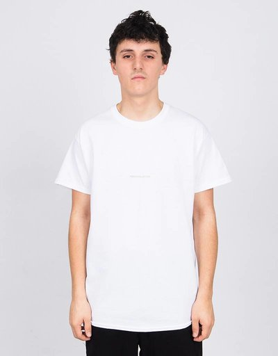 Poetic Collective Wood & Painting T-Shirt White/Beige