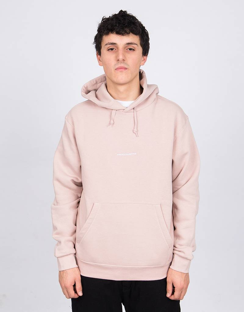 Poetic Collective Paraphrase Hoodie Washed Pink