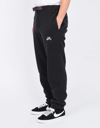 Nike SB Polartec Therma Pants Black White 2ae4ffd69cff3