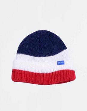 Quasi ODB Beanie Navy/White/Red
