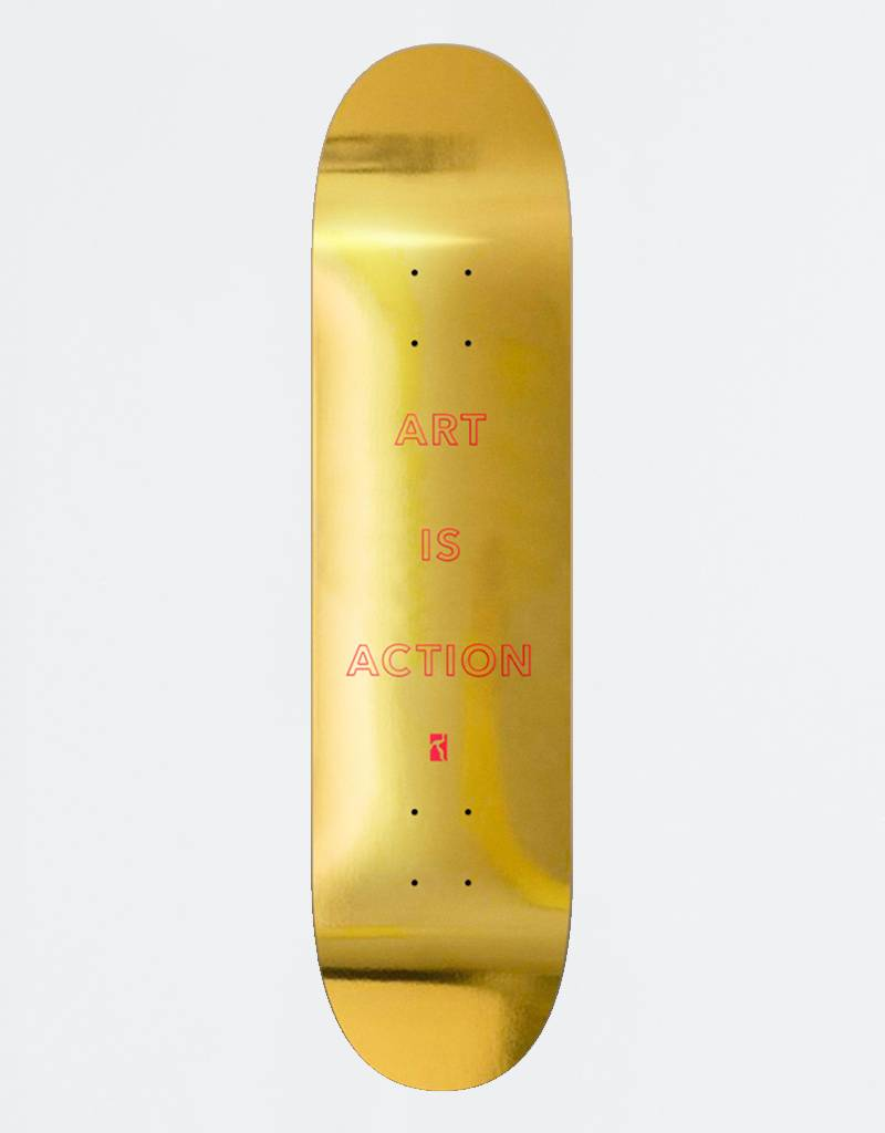 Poetic Collective Art Is Action Gold Deck 8,25‰Û