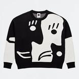 Polar Art Knit Crew Black/White