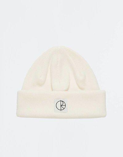 Polar Double Fold Beanie Ivory