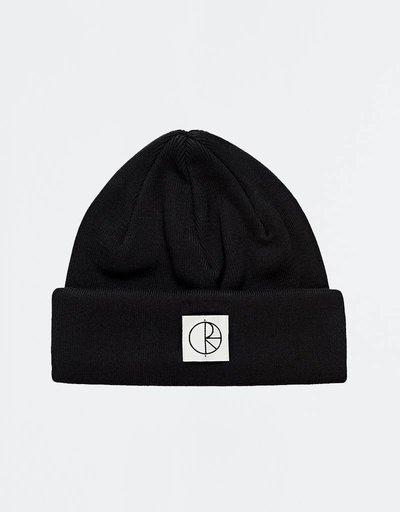 Polar Double Fold Beanie Black