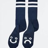 Polar Happy Sad Socks Navy