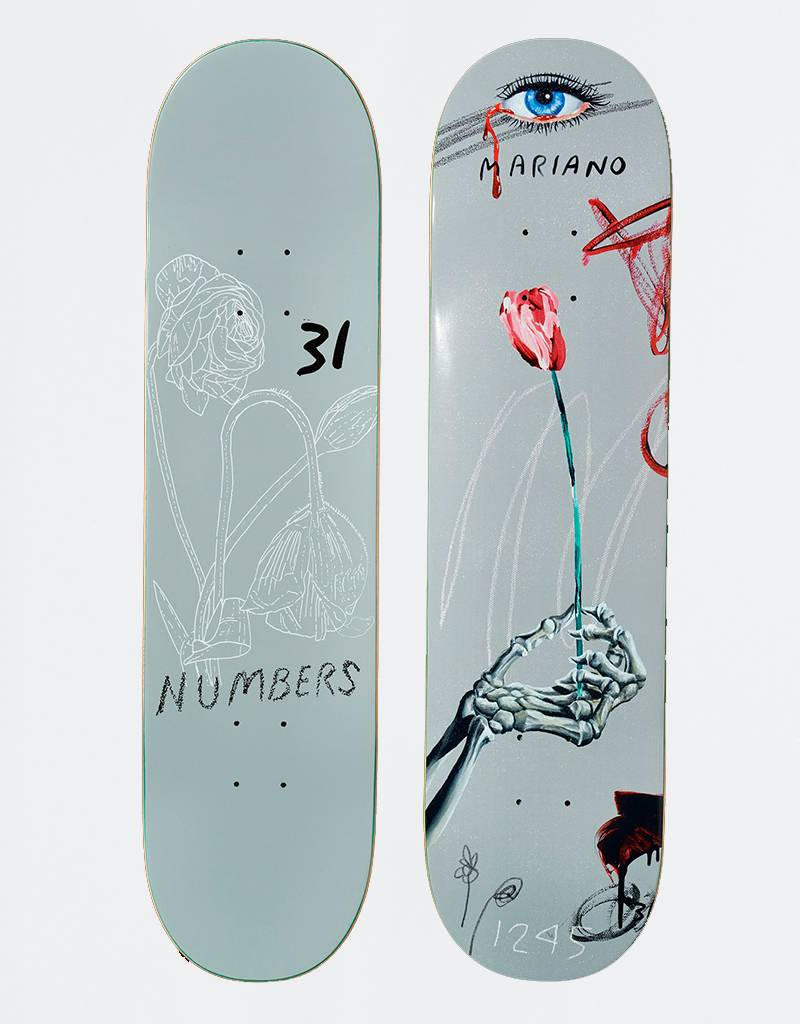 "Numbers Mariano Edition 5 8,1"" Deck"