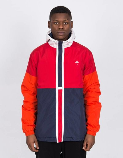 Helas Delta Jacket Red/Navy