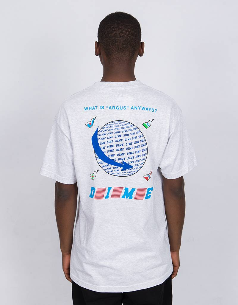 Dime Argus T-Shirt Ash