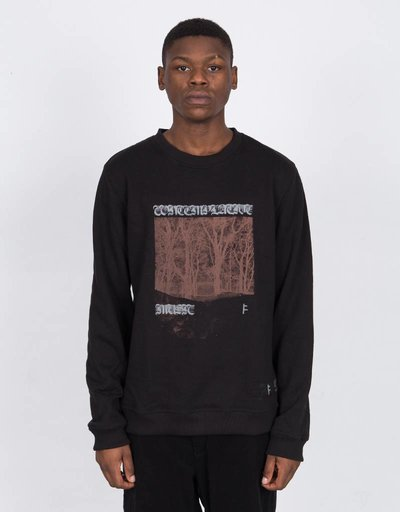 Former Contemplative Music Crewneck Black