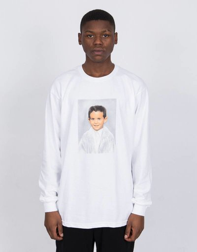 Fucking Awesome Dylan Longsleeve White