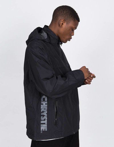 Chrystie C Logo Jacket Black