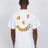 Chrystie 3D Smiley T-Shirt White