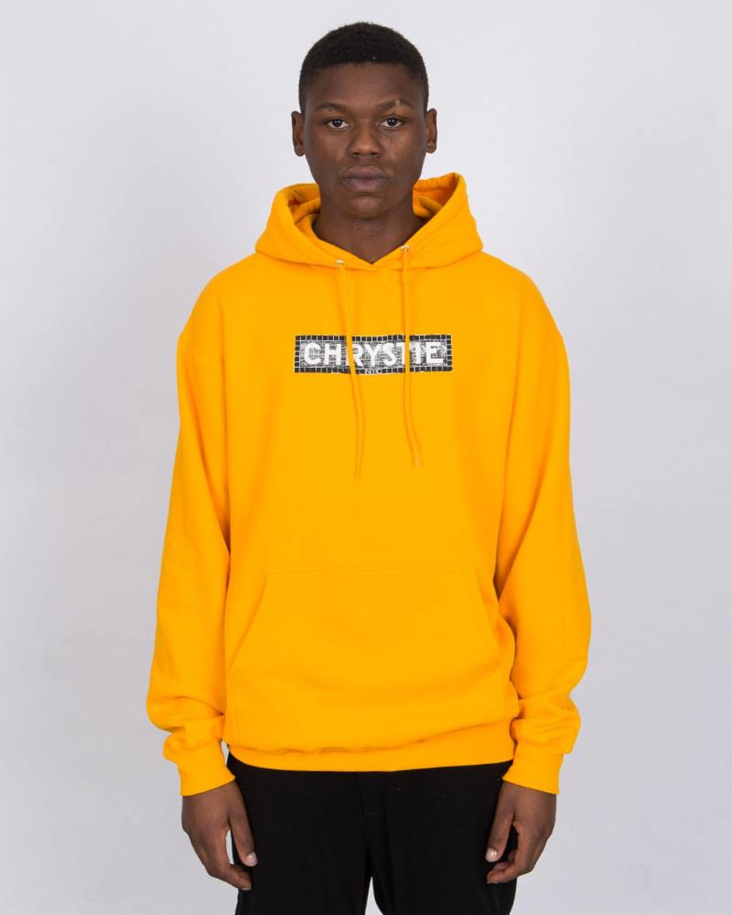 Chrystie Station Hoodie Gold