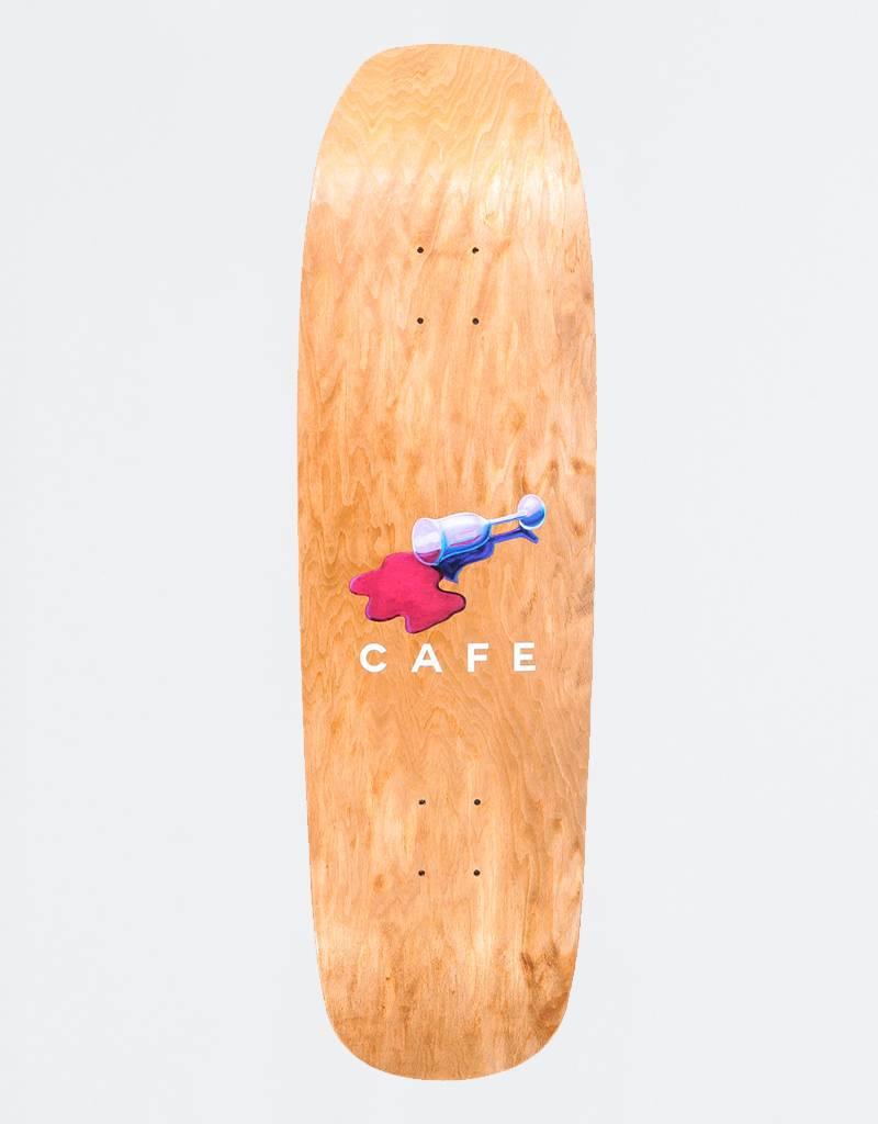 "Skateboard Cafe Wine Spill 9,0"" Deck"