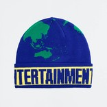Fucking Awesome World Entertainment Beanie Blue