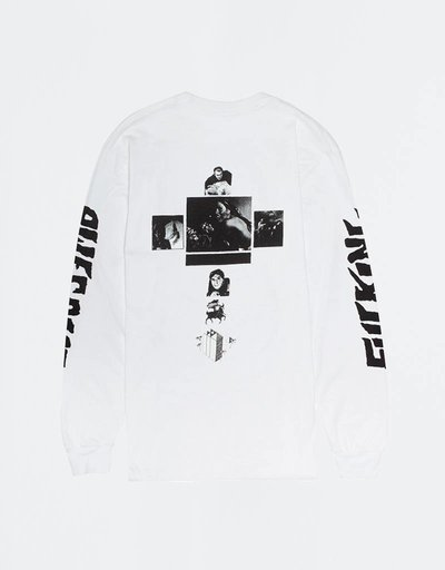 Fucking Awesome Faith Longsleeve White