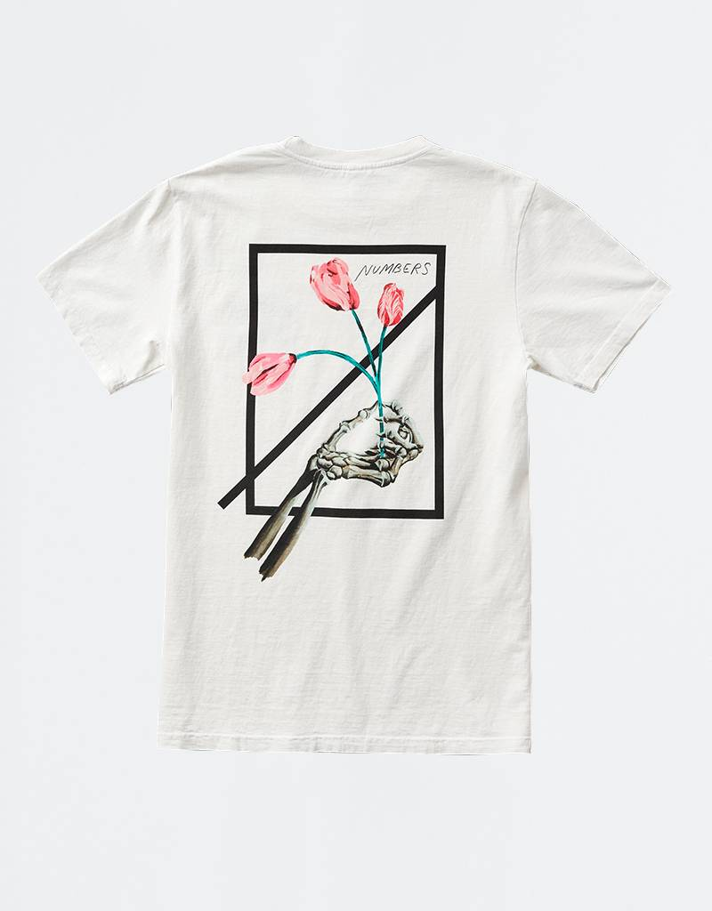 Numbers Othello Logotype T-Shirt Off White