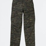 Carhartt Regular Cargo Pant Cotton Camo Tiger Jungle Stone Washed