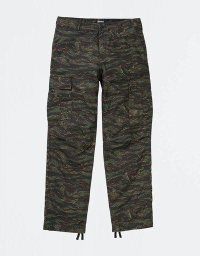Carhartt Regular Cargo Pant Cotton Camo Tiger Jungle Stone Washed