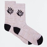 Magenta Socks Mid Heather/Black