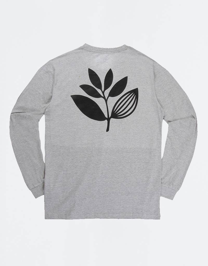 Magenta  Team Plant Longsleeve Dark Heather Grey